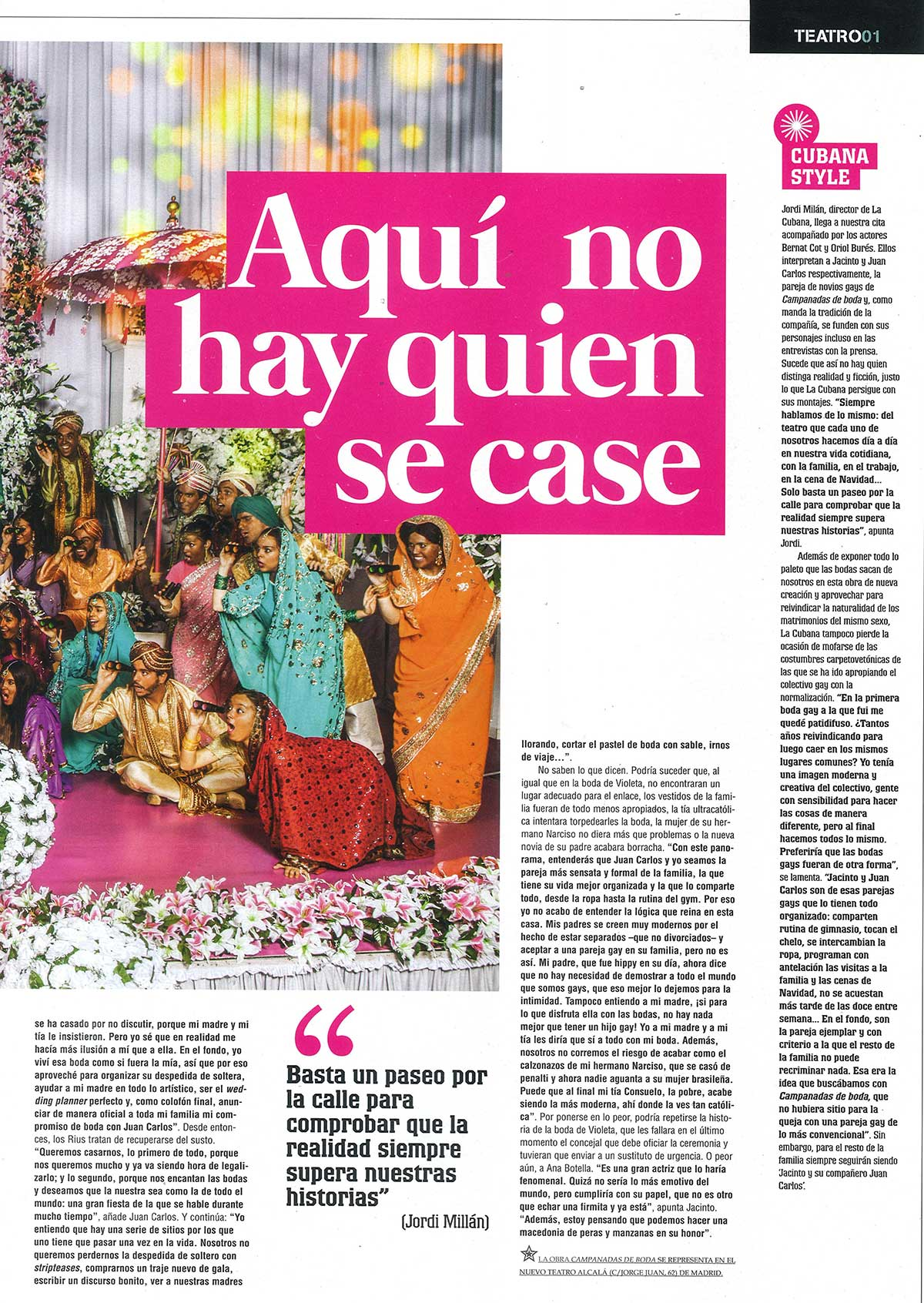 Campanadas de Boda | La Cubana
